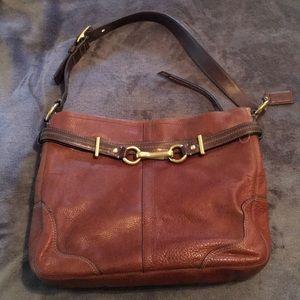 Coach vintage pebbled leather bag